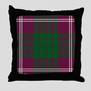 Crawford Clan Throw Pillow