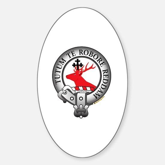 Crawford Clan Sticker (Oval)