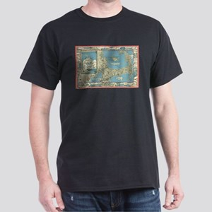 Vintage Map of Cape Cod (1945) T-Shirt