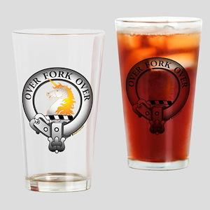Cunningham Clan Drinking Glass