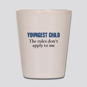 YOUNGEST CHILD Shot Glass