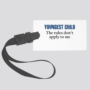 YOUNGEST CHILD Luggage Tag
