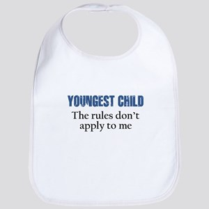 YOUNGEST CHILD Bib