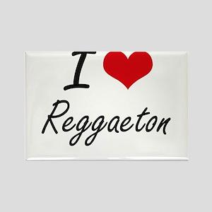 I Love REGGAETON Magnets
