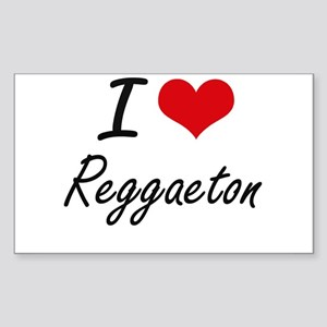 I Love REGGAETON Sticker
