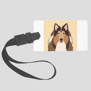 Collie Luggage Tag