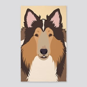 Collie Area Rug