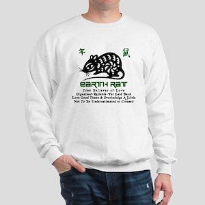 Chinese Zodiac Earth Rat Sweatshirt