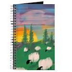 sunset wall Journal