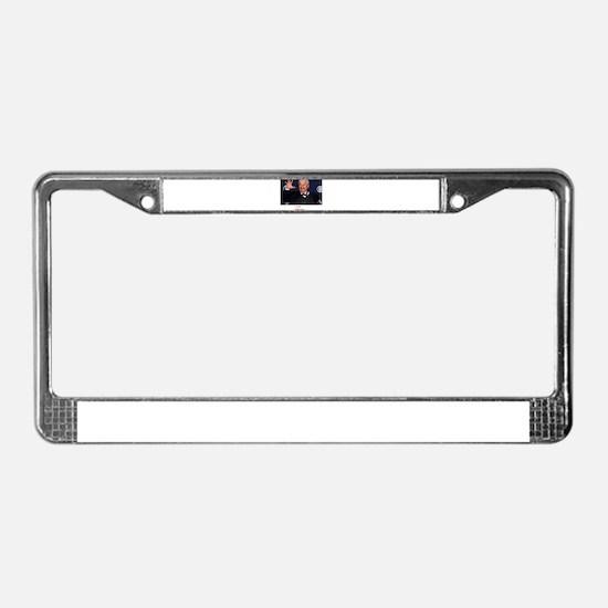 EL REY - MAMBO KING License Plate Frame