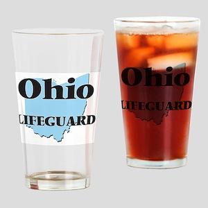 Ohio Lifeguard Drinking Glass