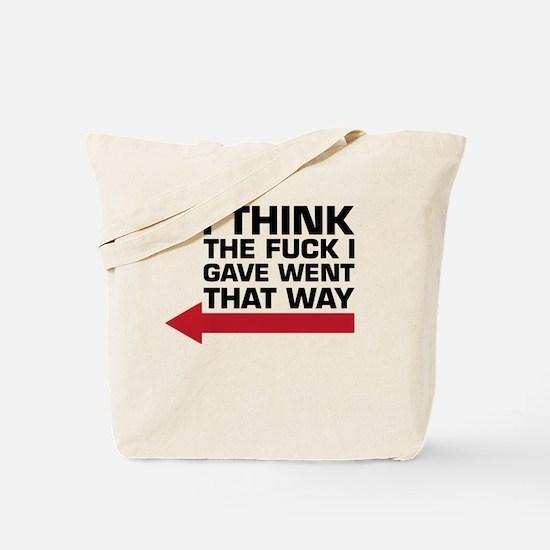 Cool Vulgar Tote Bag