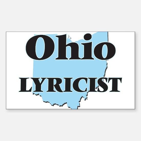 Ohio Lyricist Decal