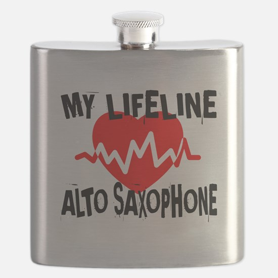 My Lifeline Alto Saxophone Flask