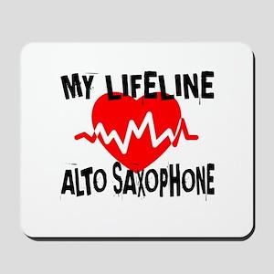 My Lifeline Alto Saxophone Mousepad