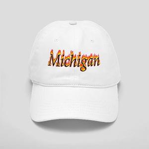 Michigan Flame Baseball Cap