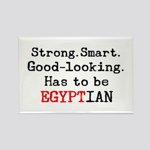 be egyptian Rectangle Magnet
