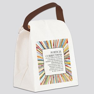Political correctness Canvas Lunch Bag