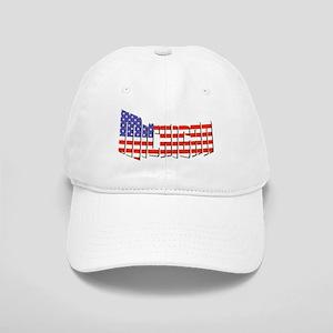 Patriotic Michigan Baseball Cap