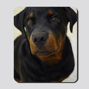 Happy Rottie Mousepad