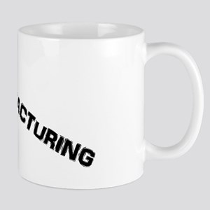 I Support Human Manufacturing Mug Mugs