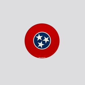 Tennessee State Flag Mini Button