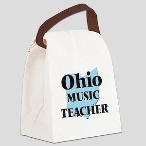 Ohio Music Teacher Canvas Lunch Bag