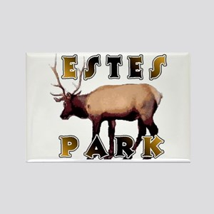 Estes Park , Colorado Elk Rectangle Magnet