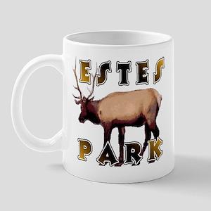 Estes Park , Colorado Elk  Mug