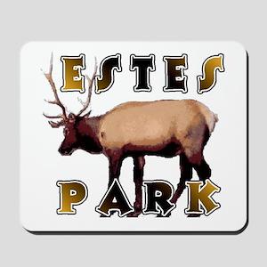 Estes Park , Colorado Elk  Mousepad