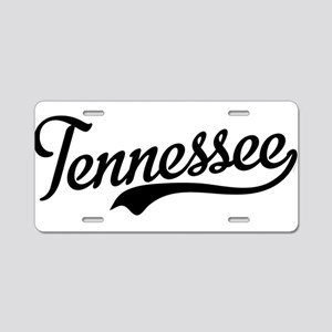 Tennessee Script Aluminum License Plate