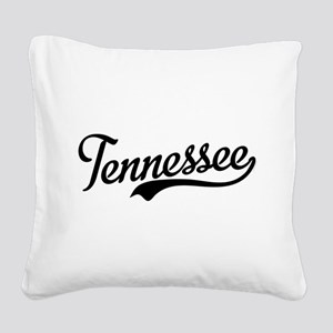 Tennessee Script Square Canvas Pillow