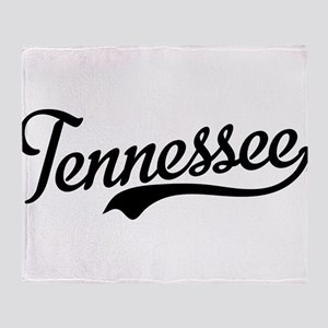 Tennessee Script Throw Blanket