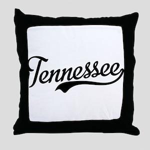 Tennessee Script Throw Pillow