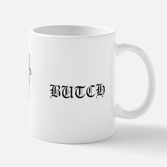 Butch Bdb Dagger Logo Mugs