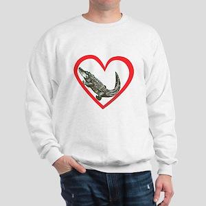 Alligator Heart Sweatshirt