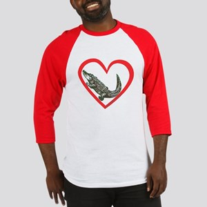 Alligator Heart Baseball Jersey