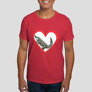 Alligator Heart Dark T-Shirt