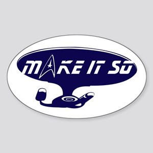 Make It So... Sticker