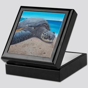 A Sea Turtle Day Keepsake Box