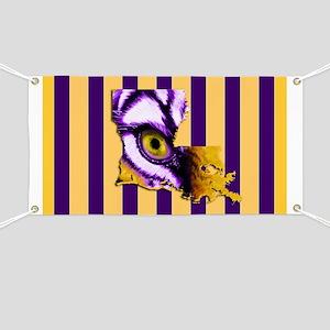 Louisiana State Tiger Eye 3 Banner
