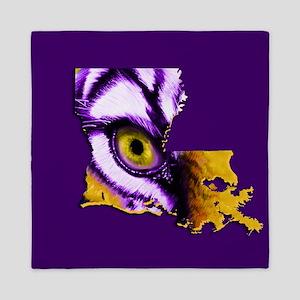 Louisiana State Tiger Eye Queen Duvet
