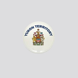 Yukon Territory Mini Button