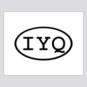 IYQ Oval Small Poster
