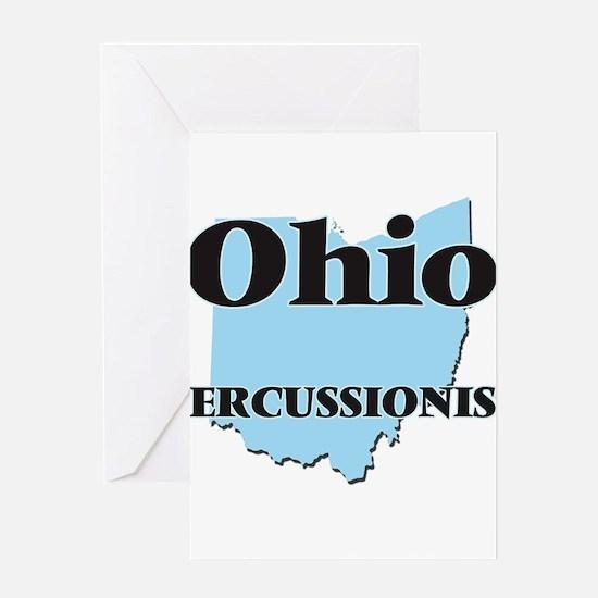 Ohio Percussionist Greeting Cards