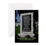 Graveyard Scramble - Halloween Cards (Pk of 20)