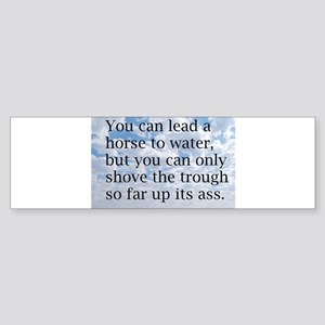 Bright Clouds Bumper Sticker