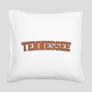 Tennessee Square Canvas Pillow