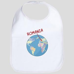 Romania Globe Bib