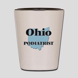 Ohio Podiatrist Shot Glass